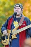 Sammy Davisson van de Band van Broers Davisson Stock Foto's