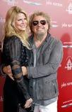 Sammy Hagar και Kari Karte-Hagar Στοκ Φωτογραφία