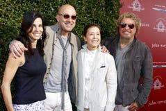 Sammy Hagar, Joyce Varvatos, John Varvatos and Gail Abarbanel Stock Photo