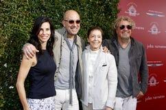 Sammy Hagar, Joyce Varvatos, John Varvatos and Gail Abarbanel Royalty Free Stock Photo