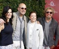 Sammy Hagar, Joyce Varvatos, John Varvatos and Gail Abarbanel Royalty Free Stock Image