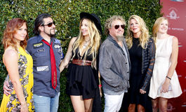 Sammy Hagar and Kari Karte-Hagar Stock Photo