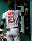 Sammy Sosa Baltimore Orioles Stock Photo