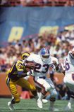 Sammy Winder. Denver Broncos RB Sammy Winder, #23.  Image taken from color slide Royalty Free Stock Image