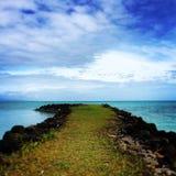 Samoa. A dreamy scene in independent Samoa Stock Photography