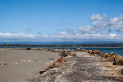 Samoa Dunes in Eureka California Royalty Free Stock Photography