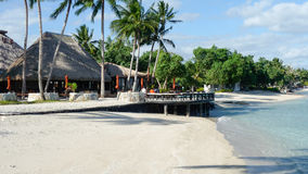 Samoa-Erholungsort Stockbild