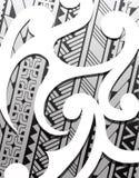Samoa ethnic ornament. Samoa style ornament. Good for sleeve tattoo Royalty Free Stock Photography