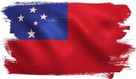 Samoa Flag Stock Photos