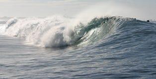 Samoa rafowa fale Zdjęcie Royalty Free