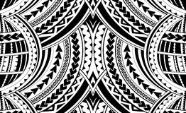 Samoa style ornament. Good for sleeve tattoo Royalty Free Stock Images