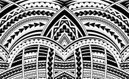 Samoa style ornament. Good for sleeve tattoo Royalty Free Stock Photos