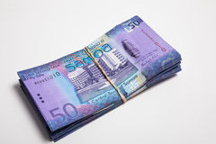 Samoa Tala bank notes Stock Image