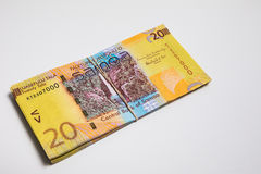 Samoa Tala bank notes isolated Stock Photo