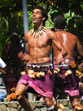Samoan Dancers Royalty Free Stock Photography