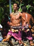 samoan dansare Royaltyfri Fotografi