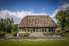 Samoano tradicional Fale Fotos de archivo libres de regalías