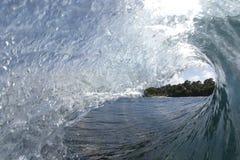 Samoansk wave2 Arkivfoton