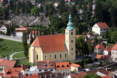 Samobor, город в Хорватии Стоковое фото RF