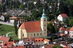 Samobor, città in Croazia Fotografia Stock Libera da Diritti