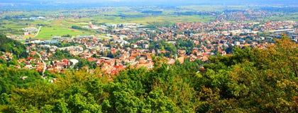 Samobor touristic destination i Kroatien Arkivbild