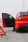 Samochód łamający Zdjęcie Royalty Free