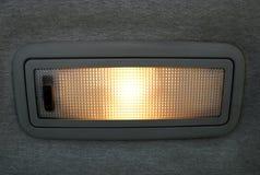 samochód światło Zdjęcia Stock