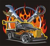 samochód 51 hot rod gazu światła Obraz Royalty Free