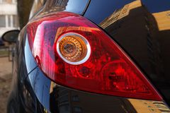 samochód backlight s Obrazy Stock