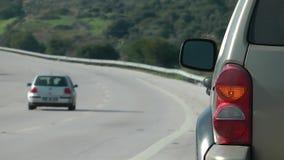 Samochód blisko drogi zbiory