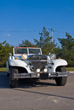 samochód cabrio excalibura Obrazy Royalty Free