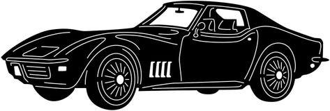 Samochód - Detailed-04 Zdjęcie Royalty Free