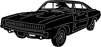 Samochód - Detailed-15 obraz stock