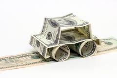 samochód dolarów, Zdjęcie Stock