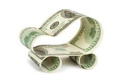 samochód dolarów, Zdjęcie Royalty Free