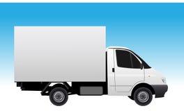 samochód dostawczy ilustracji