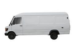 samochód dostawczy biel fotografia royalty free