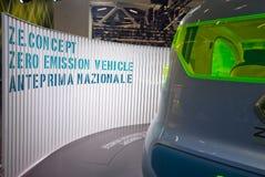 samochód ekologiczny Obrazy Royalty Free