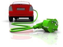 samochód elektryczny royalty ilustracja