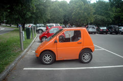 samochód elektryczny Obraz Royalty Free