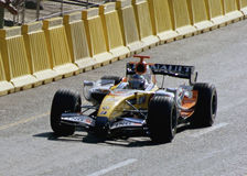 samochód f 1 r Renault rasy Fotografia Royalty Free