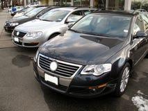 samochód firmy nowe przedstawicielstwo Obraz Stock