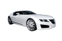 samochód futurystyczny Obrazy Stock