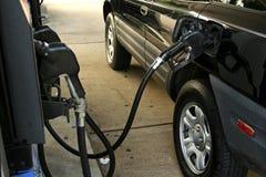 samochód gazowych Fotografia Stock