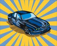 samochód gt brodu turystyki Obrazy Royalty Free