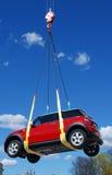 samochód hunging Zdjęcia Stock