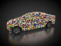 Samochód i carbody ilustracji