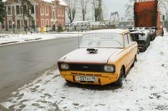 Samochód i reklama Zdjęcie Royalty Free