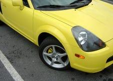 samochód imprezuj żółty Obraz Stock