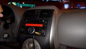 Samochód from inside zdjęcie royalty free